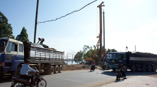 takhmao bridge construction