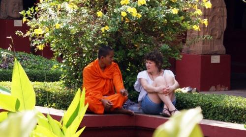 Monk pratic English