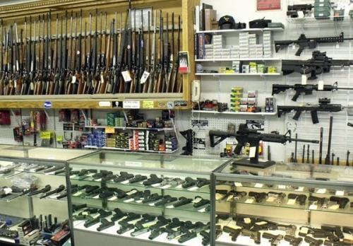 US gunshop