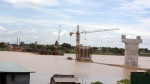 Takhmao Bridge, Bridge Across Basac River, Kandal Province, Cambodia, ស្ពានតាខ្មៅ, ស្ពានកាត់ទន្លេបាសាក់, ខេត្តកណ្តាល