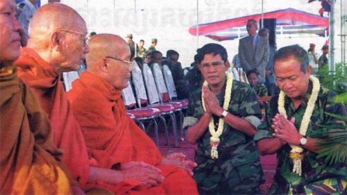 Sam Dach Hun Sen vs PPrince Norodom Ranariddh
