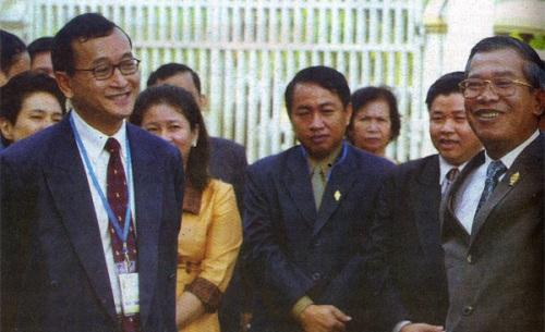 Samdach Techo Hun Sen, Sam Rangsy, សម្តេច ហ៊ុន សែន, លោក សម រង្ស៊ី