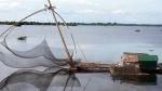 ឧបករណ៍នេសាទ, ឈ្នក់, ស្ពានមាត់ឃ្មង់, ខេត្តកំពង់ចាម, Kampong Cham Province, Cambodia,