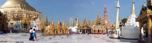 Shwedagon Pagoda, Yangon, Myanmar, វត្តស្វីដាហ្គន, ទីក្រុងរង្គូន, ប្រទេសភូមា, សហភាពមីយ៉ាន់ម៉ា